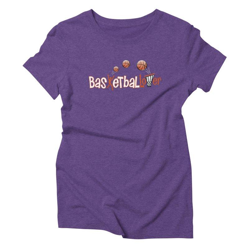 Basketball Lover Women's Triblend T-Shirt by PickaCS's Artist Shop