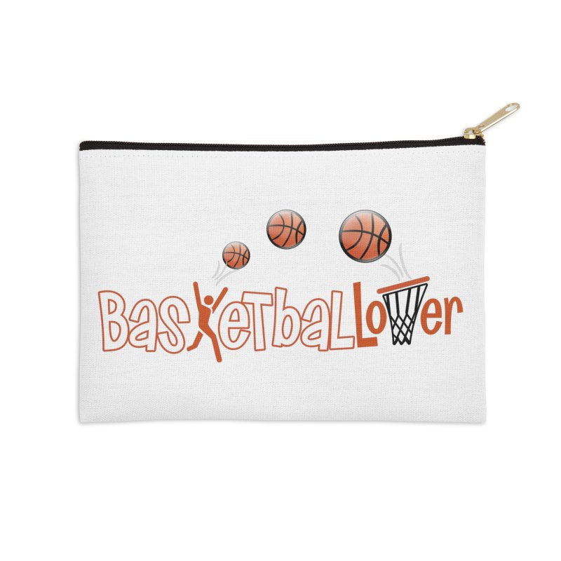Basketball Lover Accessories Zip Pouch by PickaCS's Artist Shop