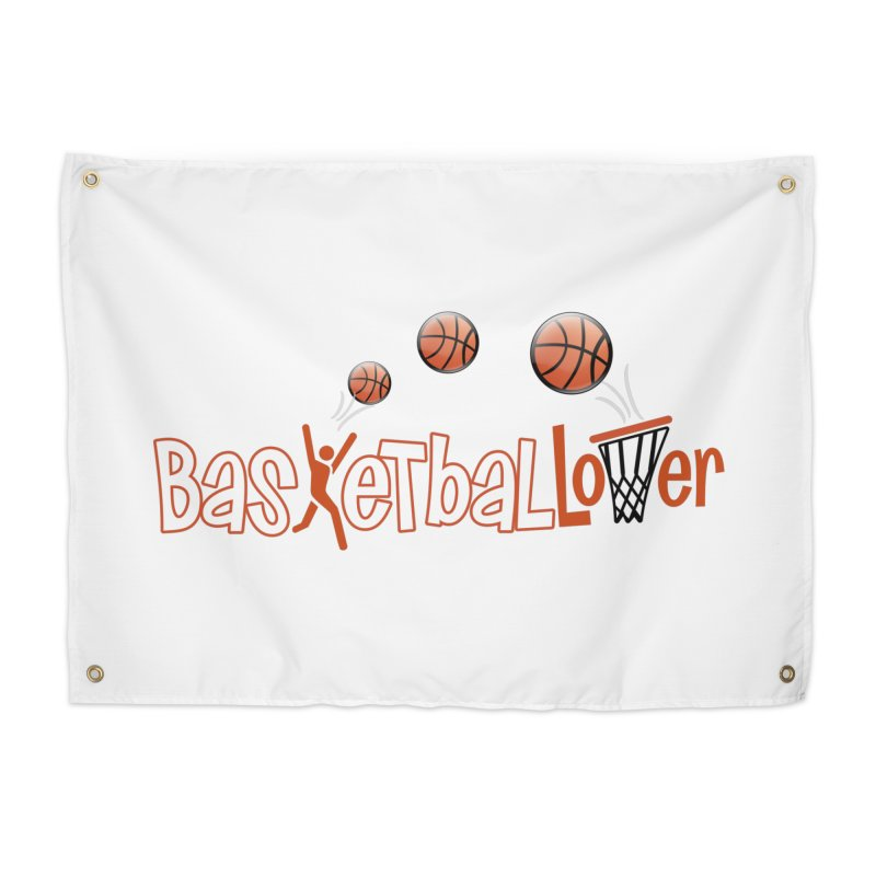 Basketball Lover Home Tapestry by PickaCS's Artist Shop