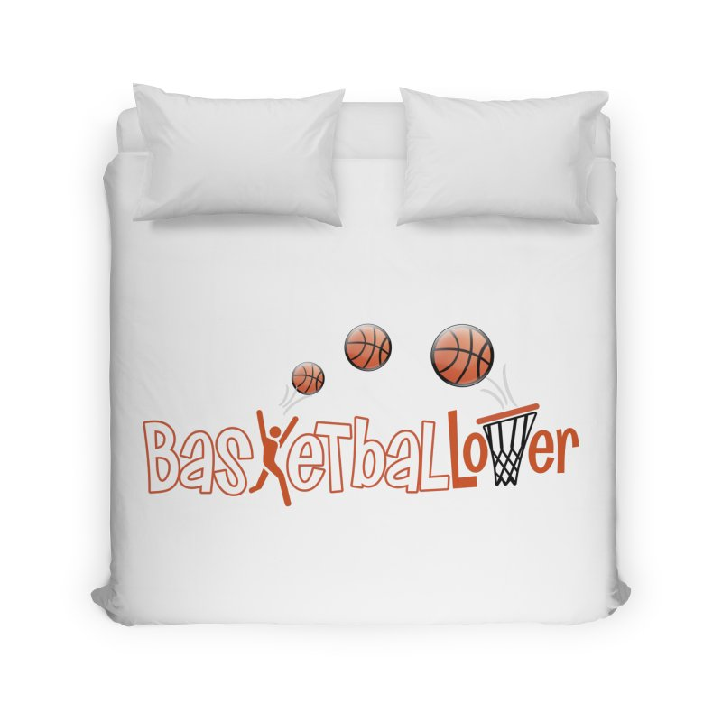 Basketball Lover Home Duvet by PickaCS's Artist Shop