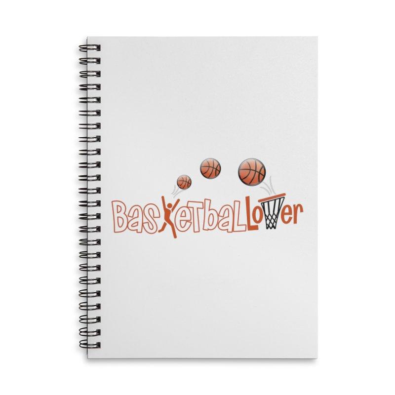 Basketball Lover Accessories Notebook by PickaCS's Artist Shop