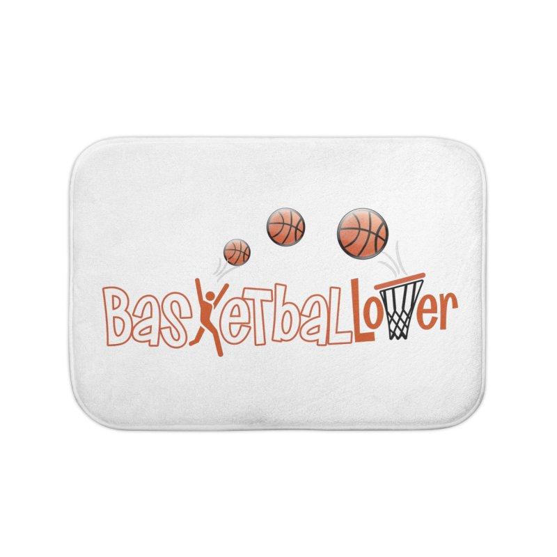 Basketball Lover Home Bath Mat by PickaCS's Artist Shop