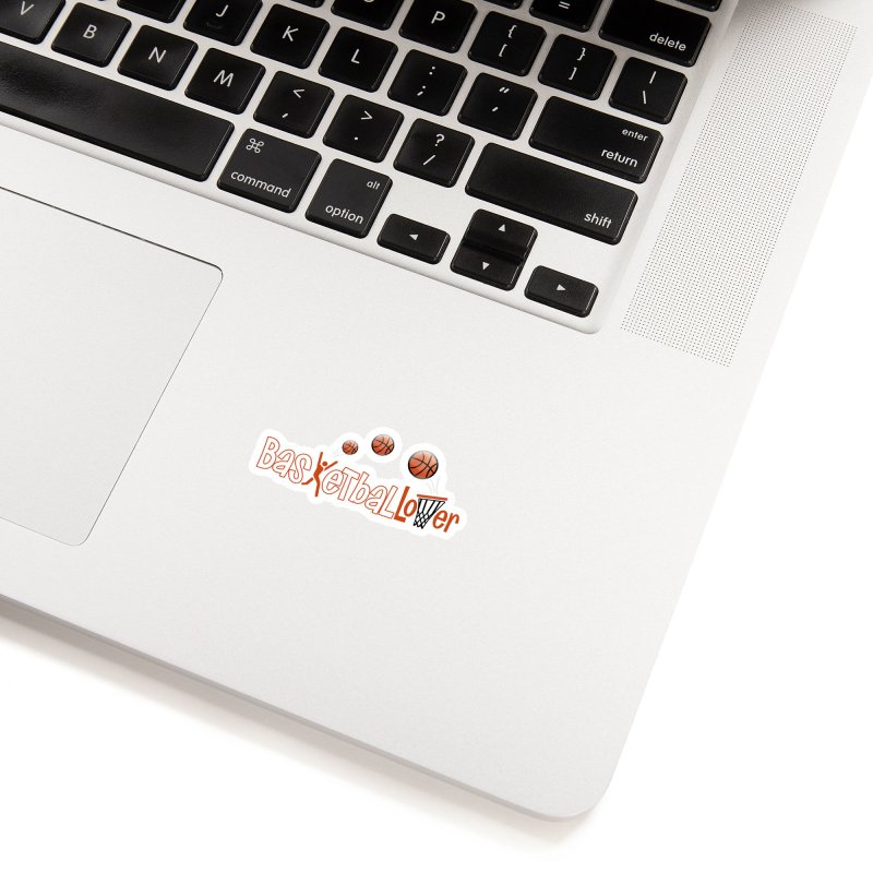 Basketball Lover Accessories Sticker by PickaCS's Artist Shop