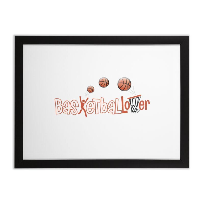 Basketball Lover Home Framed Fine Art Print by PickaCS's Artist Shop