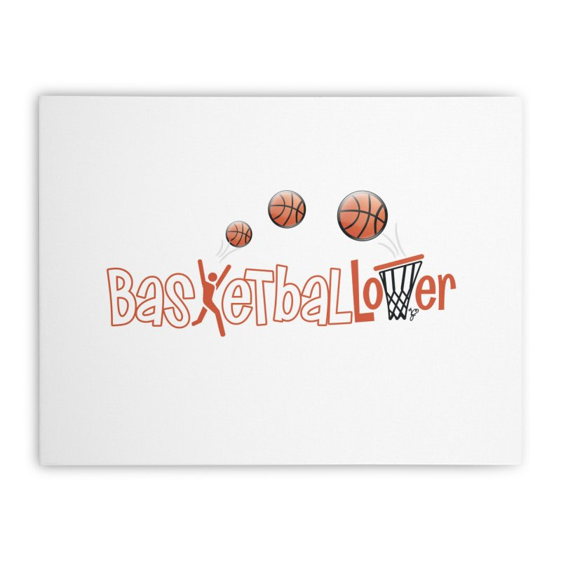 Basketball Lover Home Stretched Canvas by PickaCS's Artist Shop