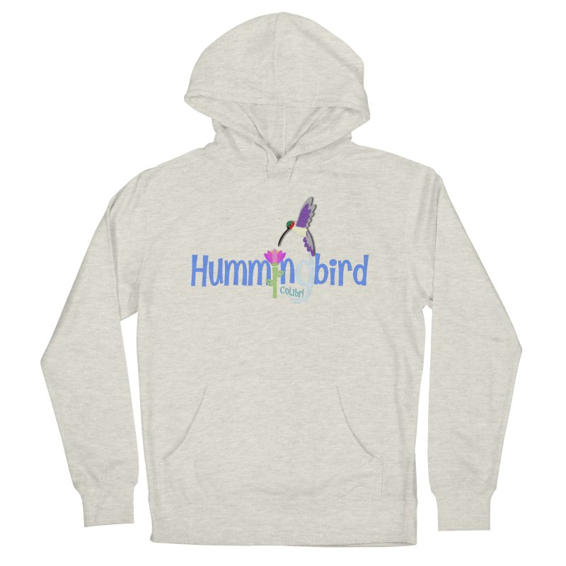 Hummingbird Men's French Terry Pullover Hoody by PickaCS's Artist Shop