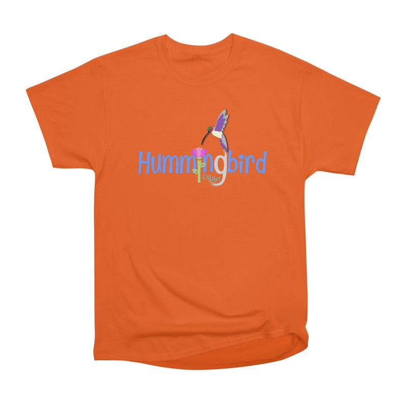 Hummingbird Women's Heavyweight Unisex T-Shirt by PickaCS's Artist Shop