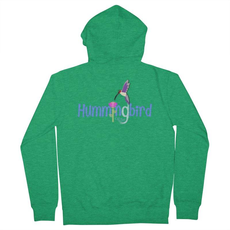 Hummingbird Women's Zip-Up Hoody by PickaCS's Artist Shop