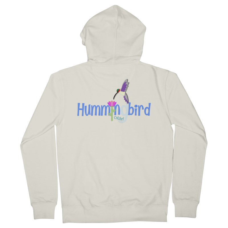 Hummingbird Women's Zip-Up Hoody by PickaCS's Artist Shop