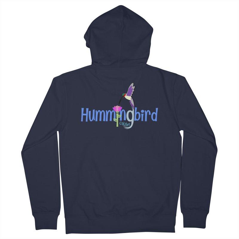 Hummingbird Men's Zip-Up Hoody by PickaCS's Artist Shop
