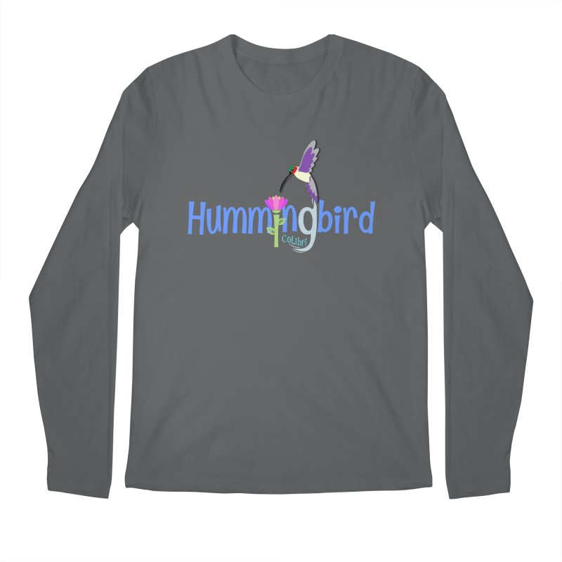 Hummingbird Men's Longsleeve T-Shirt by PickaCS's Artist Shop