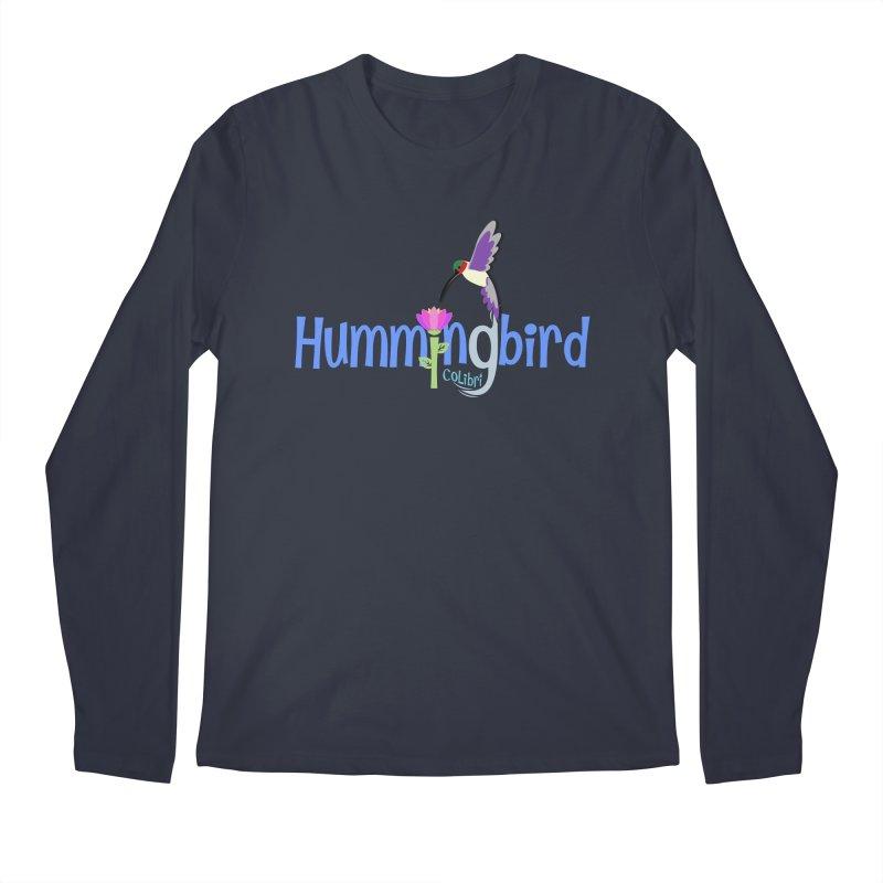 Hummingbird Men's Regular Longsleeve T-Shirt by PickaCS's Artist Shop