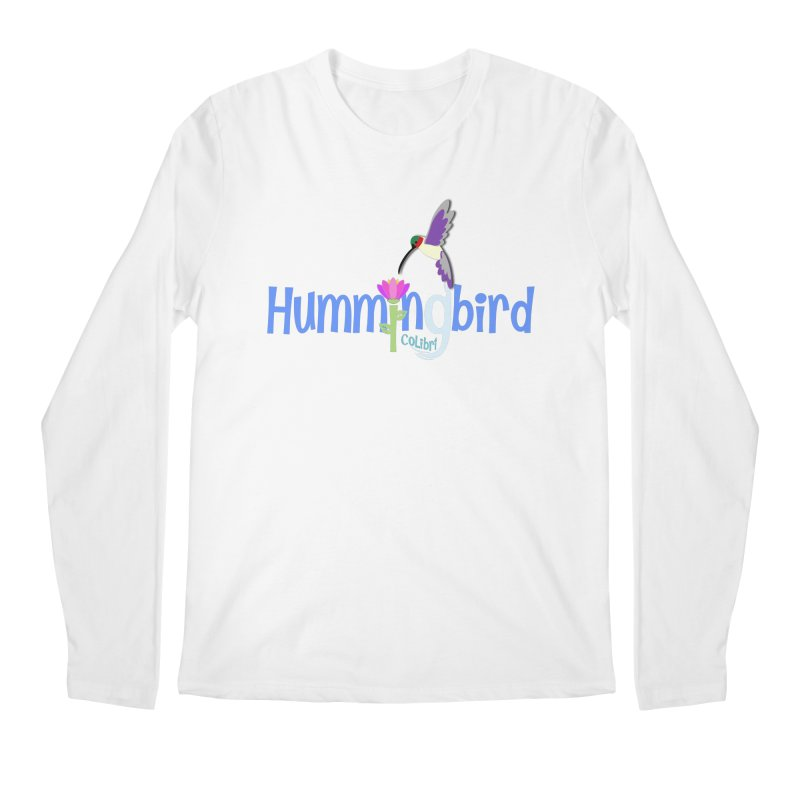 Hummingbird Men's Regular Longsleeve T-Shirt by PickaCS's Artist Shop