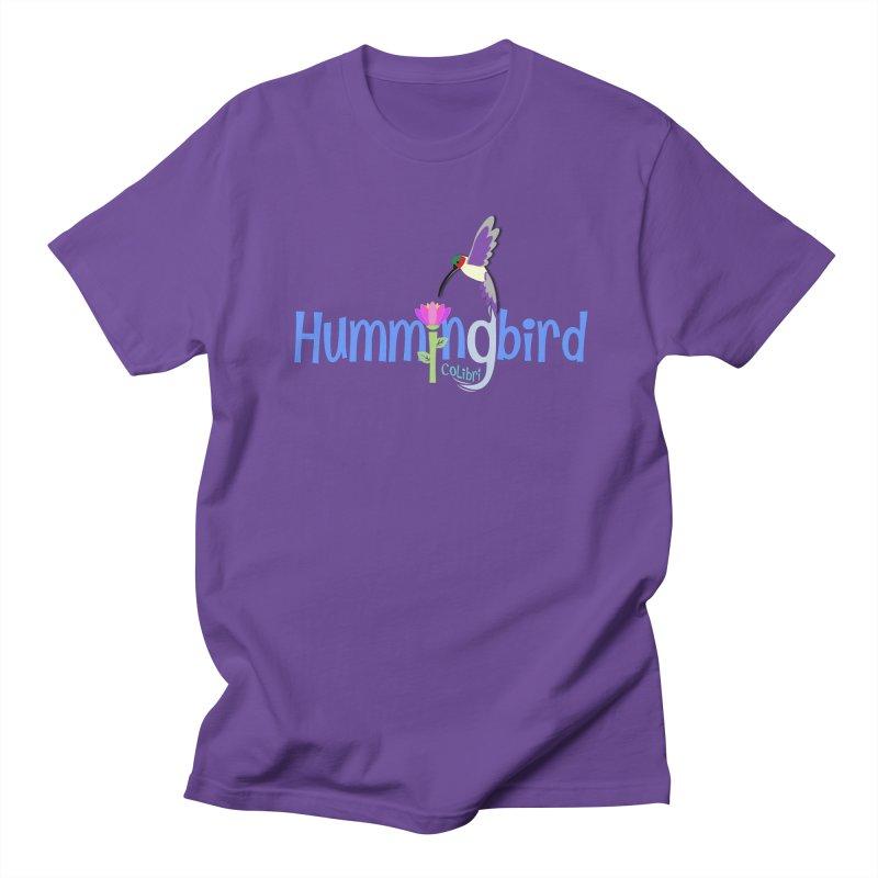 Hummingbird Men's Regular T-Shirt by PickaCS's Artist Shop
