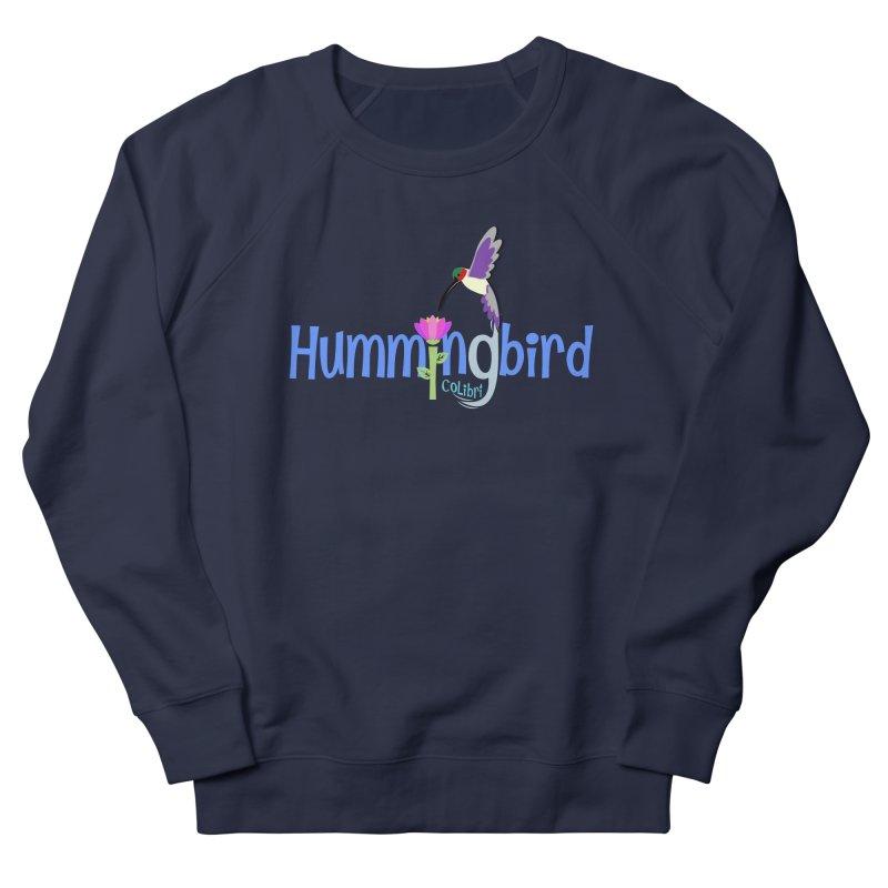 Hummingbird Men's French Terry Sweatshirt by PickaCS's Artist Shop