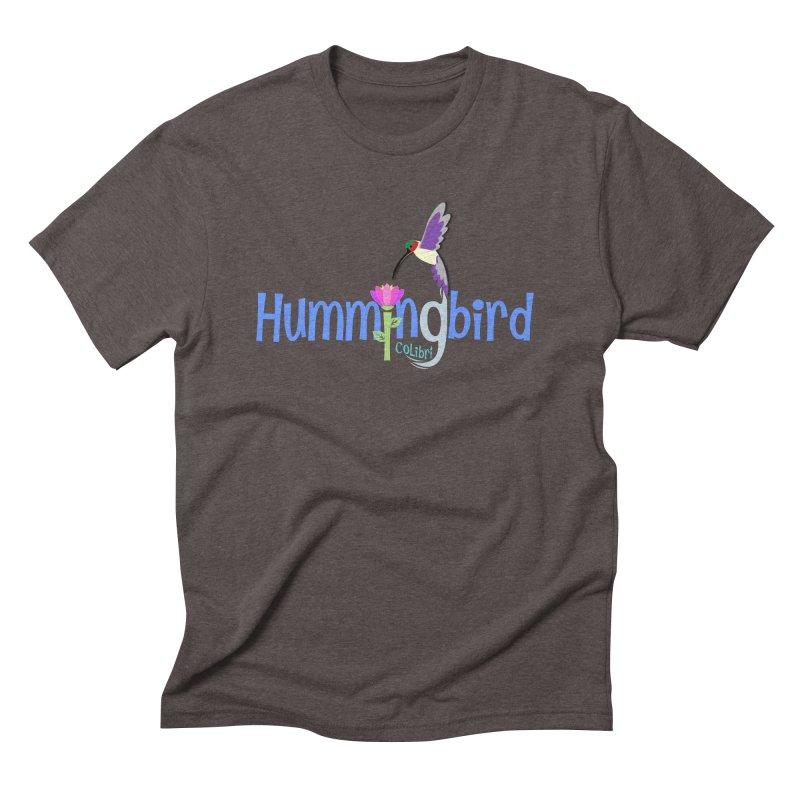 Hummingbird Men's Triblend T-Shirt by PickaCS's Artist Shop