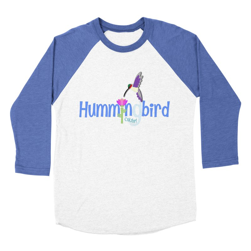 Hummingbird Women's Baseball Triblend T-Shirt by PickaCS's Artist Shop