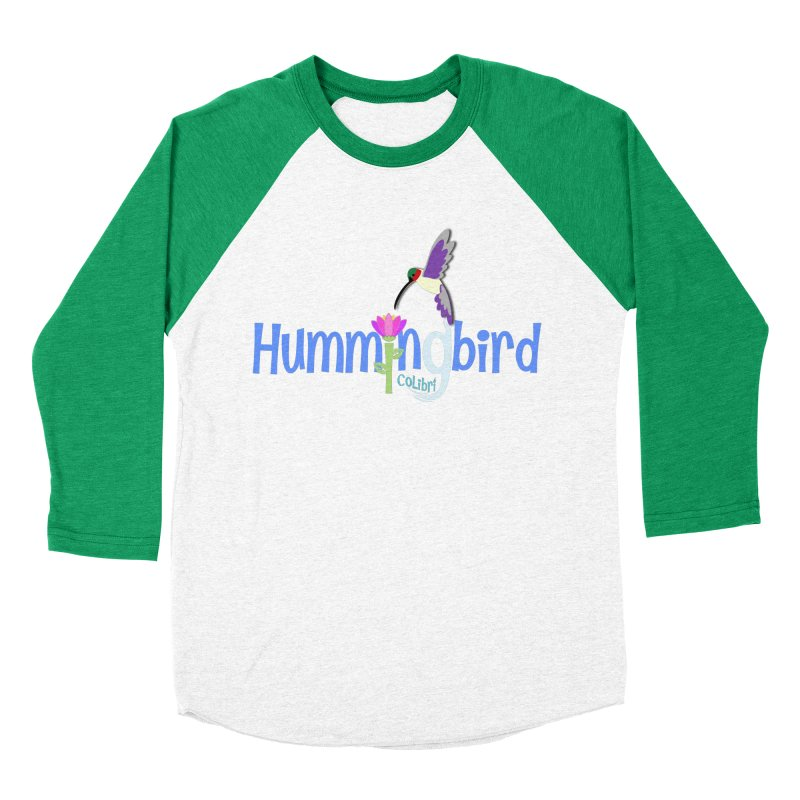 Hummingbird Men's Baseball Triblend Longsleeve T-Shirt by PickaCS's Artist Shop