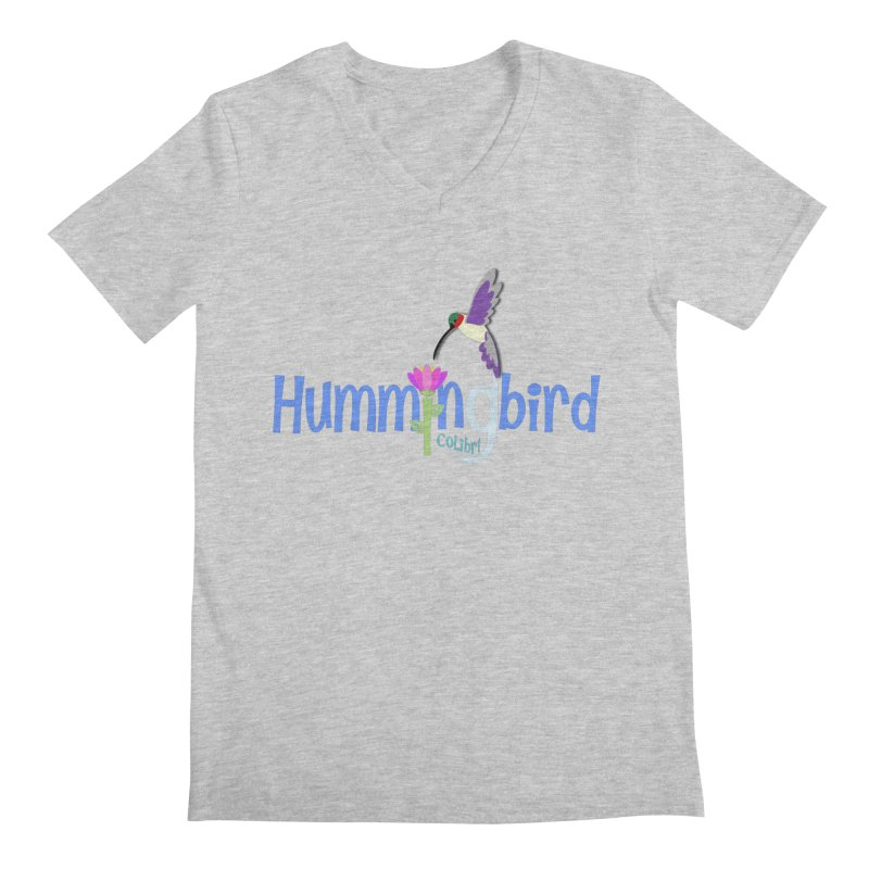 Hummingbird Men's V-Neck by PickaCS's Artist Shop