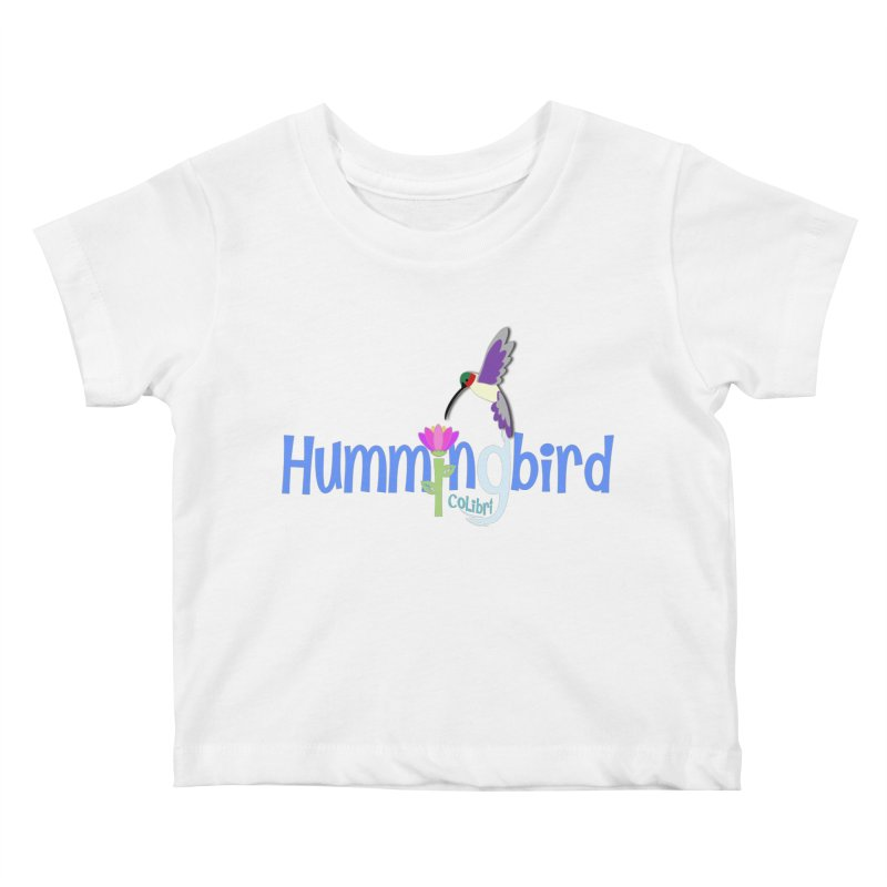 Hummingbird Kids Baby T-Shirt by PickaCS's Artist Shop