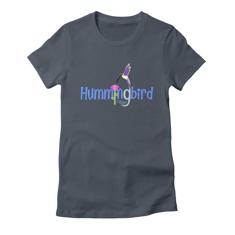 Hummingbird Women's T-Shirt by PickaCS's Artist Shop