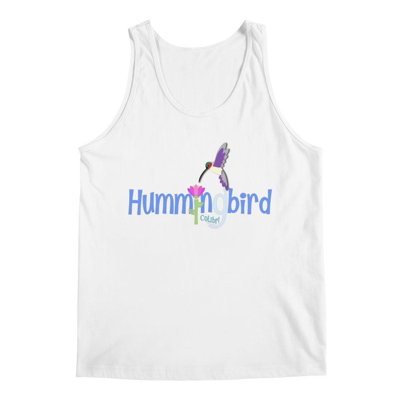 Hummingbird Men's Regular Tank by PickaCS's Artist Shop