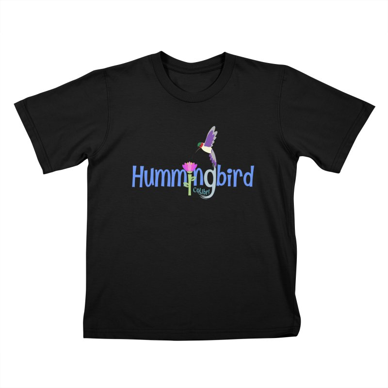 Hummingbird Kids T-Shirt by PickaCS's Artist Shop