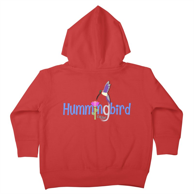 Hummingbird Kids Toddler Zip-Up Hoody by PickaCS's Artist Shop