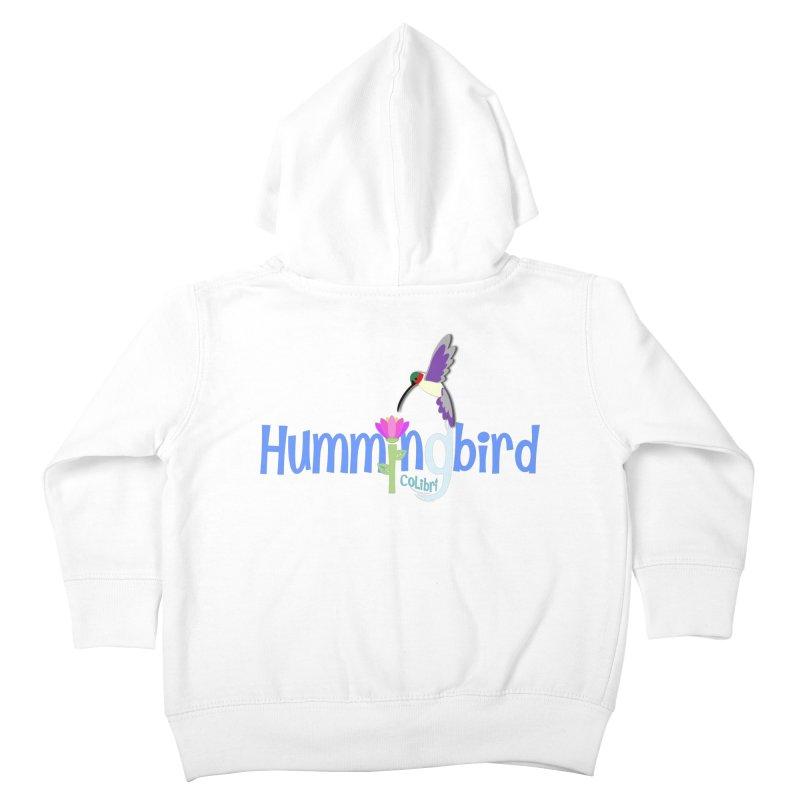 Hummingbird Kids Toddler Zip-Up Hoody by PickaCS's Artist Shop