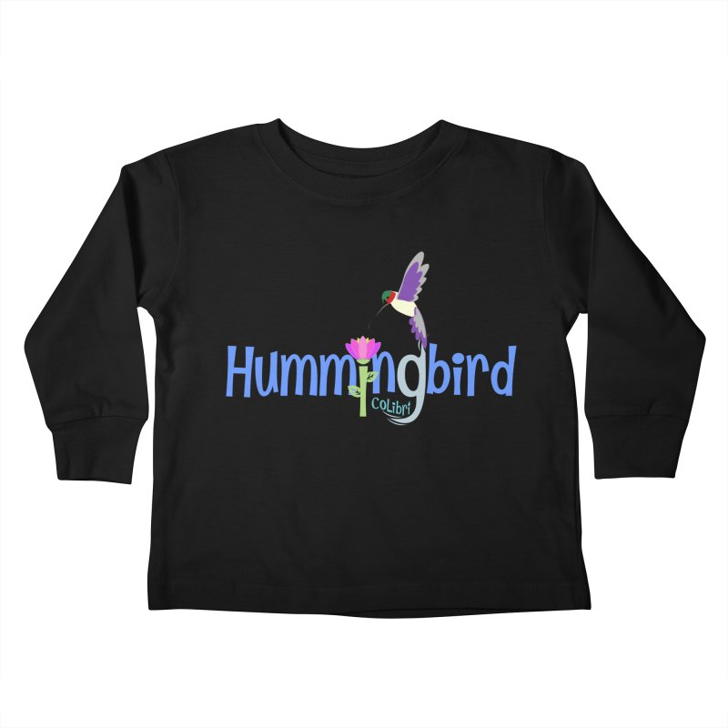 Hummingbird Kids Toddler Longsleeve T-Shirt by PickaCS's Artist Shop