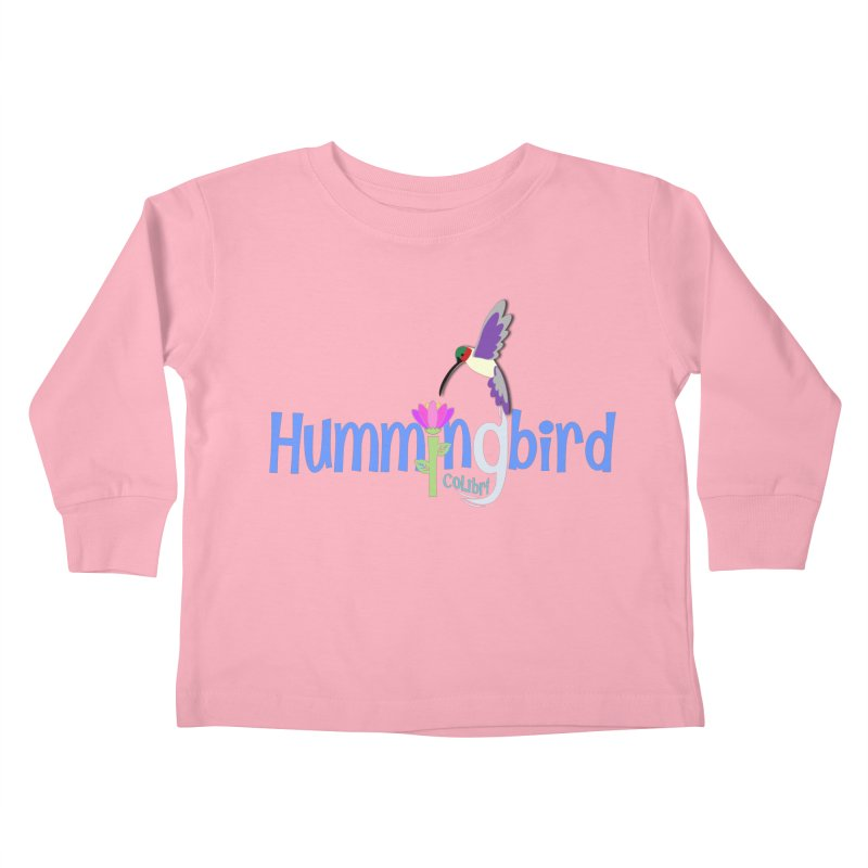 Hummingbird Kids Toddler Longsleeve T-Shirt by PickaCS's Artist Shop