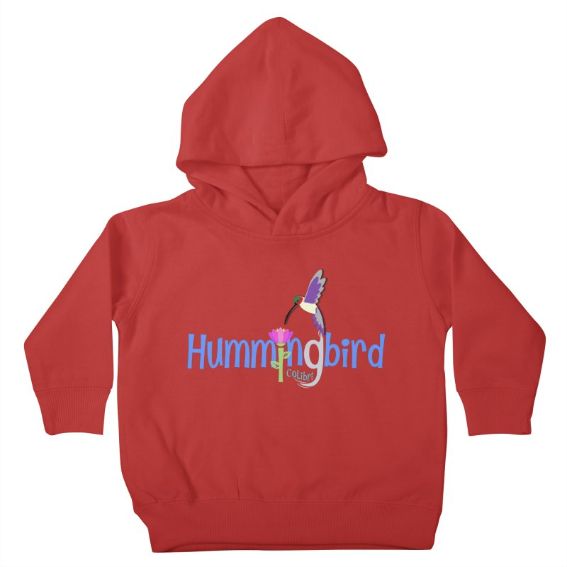 Hummingbird Kids Toddler Pullover Hoody by PickaCS's Artist Shop