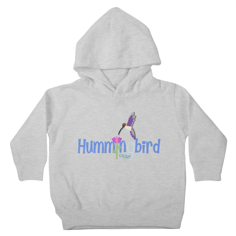 Hummingbird Kids Toddler Pullover Hoody by PickaCS's Artist Shop