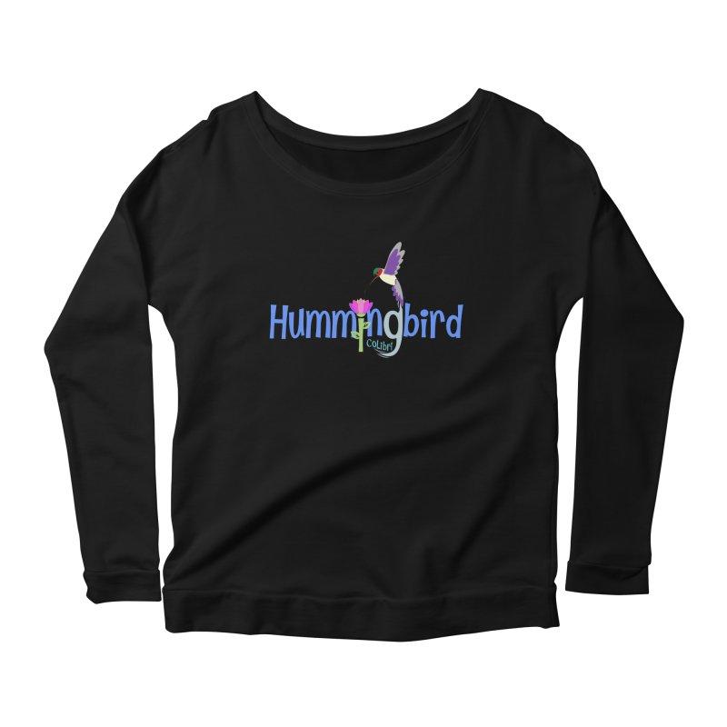 Hummingbird Women's Longsleeve T-Shirt by PickaCS's Artist Shop
