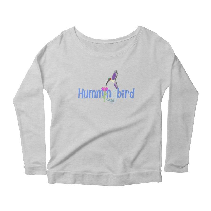 Hummingbird Women's Scoop Neck Longsleeve T-Shirt by PickaCS's Artist Shop