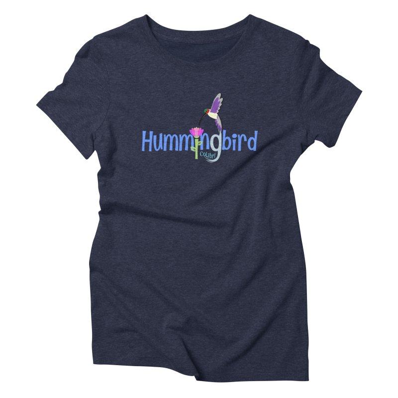 Hummingbird Women's Triblend T-Shirt by PickaCS's Artist Shop