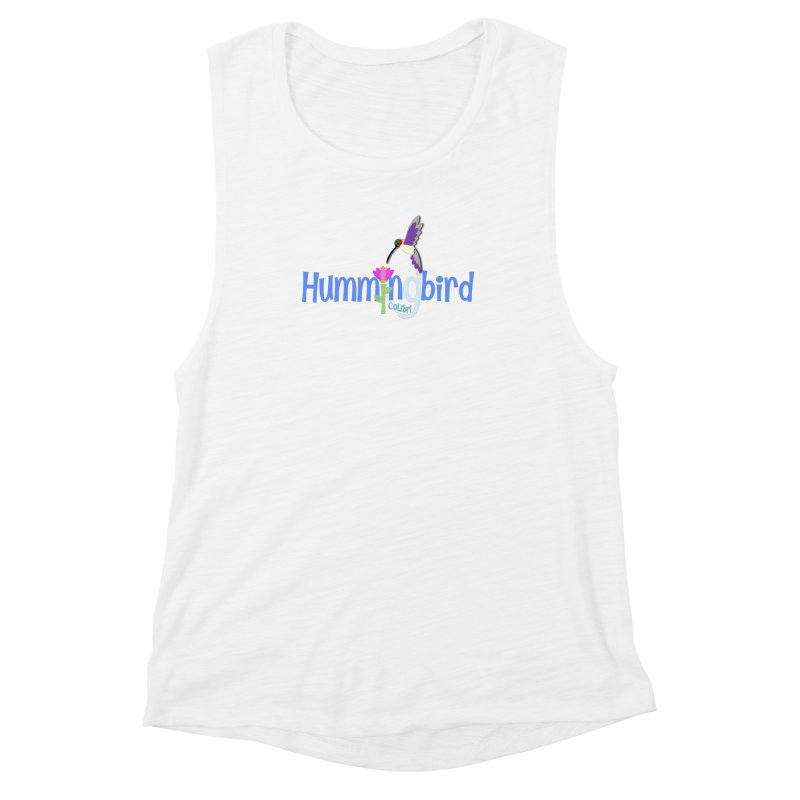 Hummingbird Women's Muscle Tank by PickaCS's Artist Shop