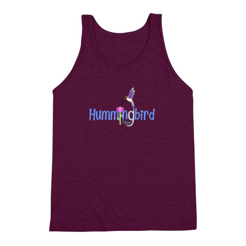 Hummingbird Men's Triblend Tank by PickaCS's Artist Shop