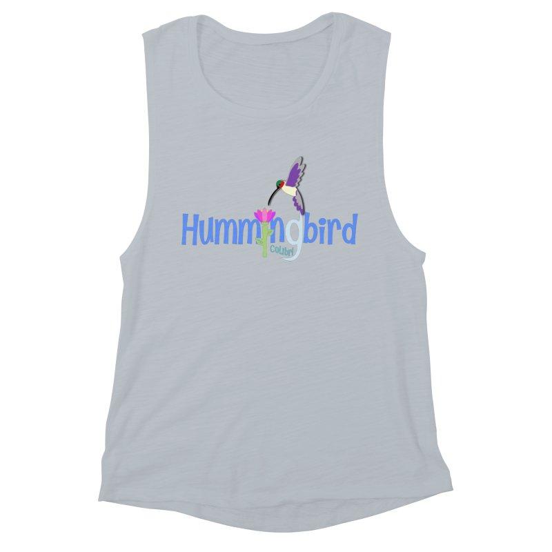 Hummingbird Women's Muscle Tank by PickaCS's Artist Shop
