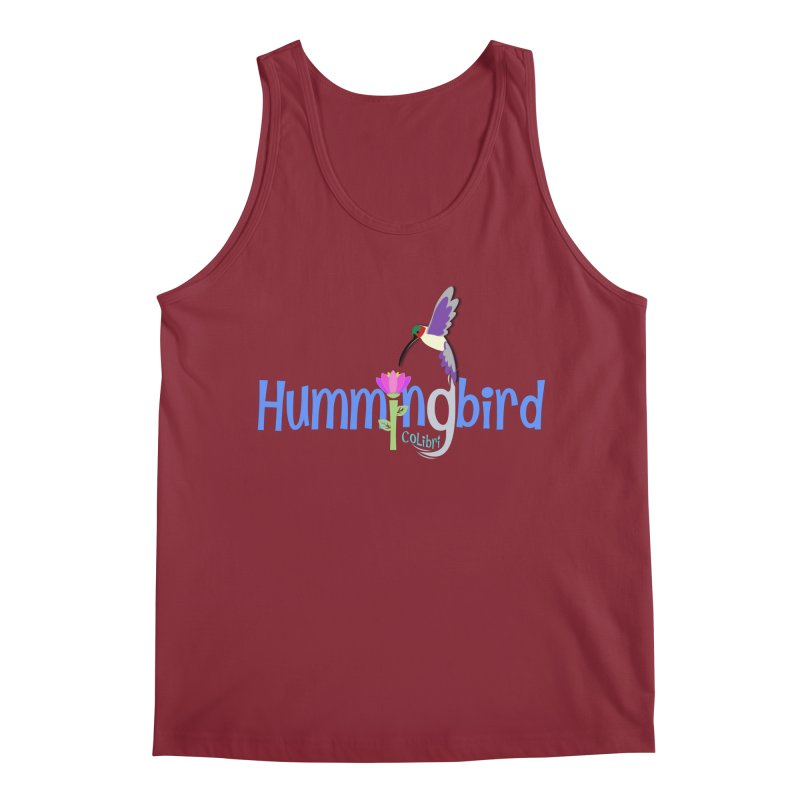 Hummingbird Men's Regular Tank by PickaCS's Artist Shop
