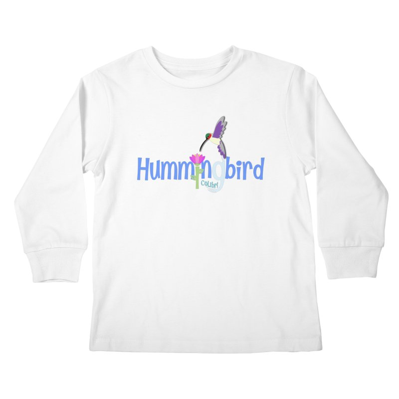 Hummingbird Kids Longsleeve T-Shirt by PickaCS's Artist Shop