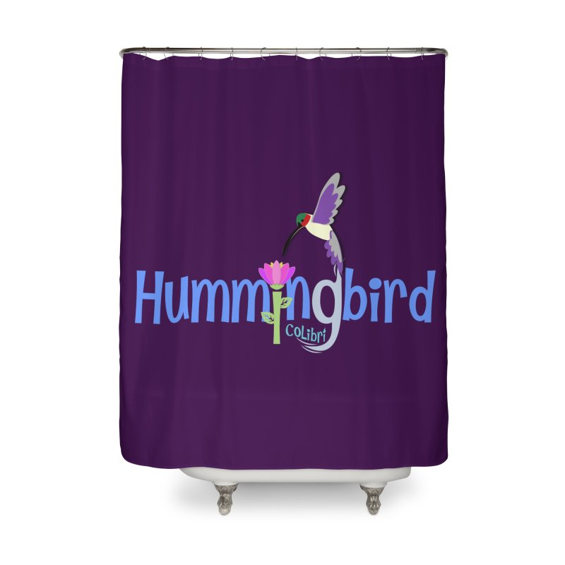 Hummingbird Home Shower Curtain by PickaCS's Artist Shop