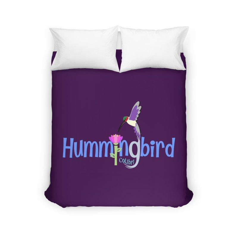 Hummingbird Home Duvet by PickaCS's Artist Shop