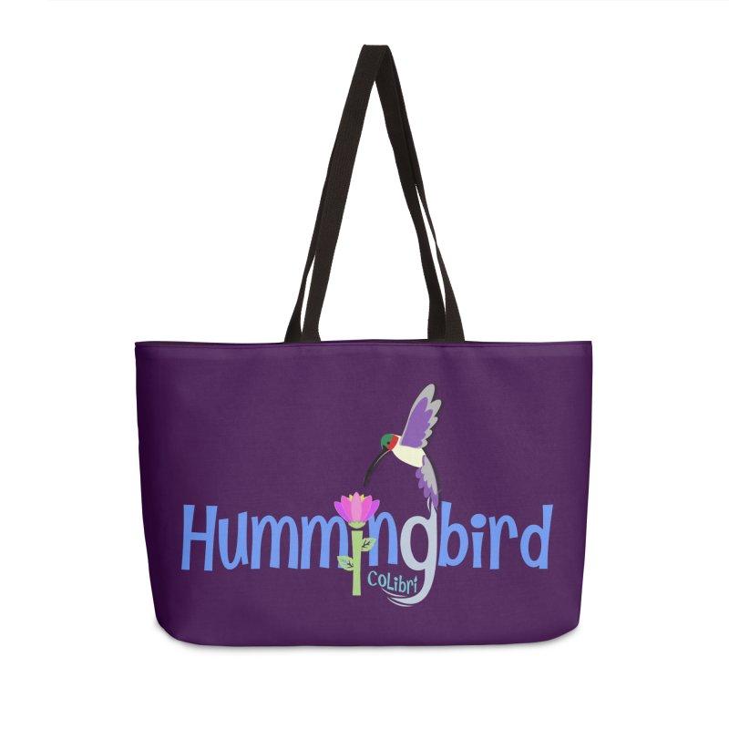 Hummingbird Accessories Weekender Bag Bag by PickaCS's Artist Shop