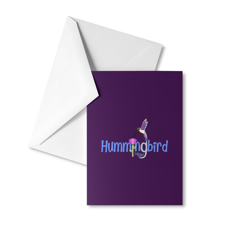 Hummingbird Accessories Greeting Card by PickaCS's Artist Shop