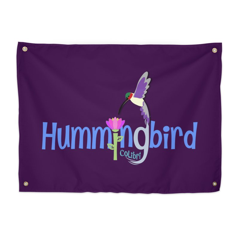 Hummingbird Home Tapestry by PickaCS's Artist Shop