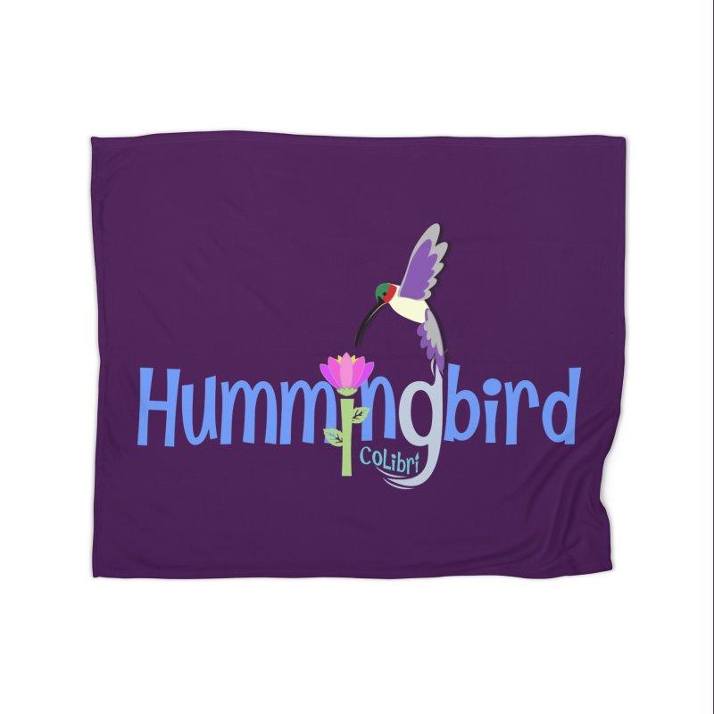 Hummingbird Home Blanket by PickaCS's Artist Shop