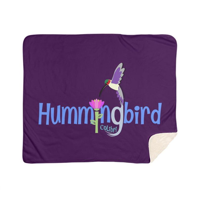 Hummingbird Home Sherpa Blanket Blanket by PickaCS's Artist Shop