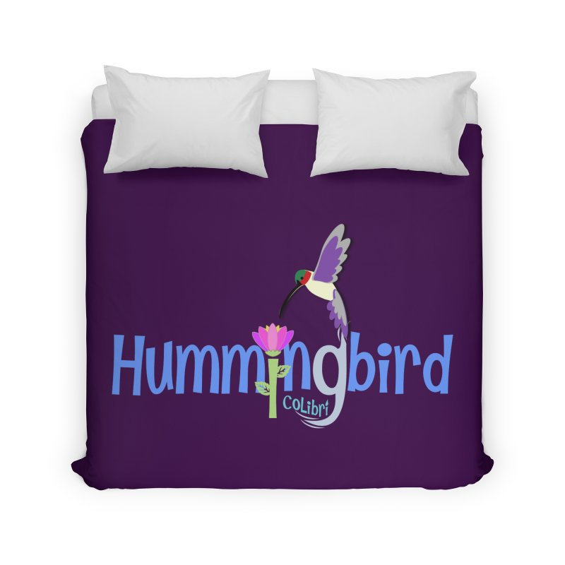 Hummingbird Home Duvet by PickaCS's Artist Shop