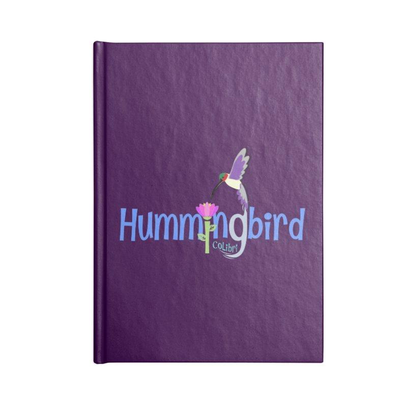 Hummingbird Accessories Lined Journal Notebook by PickaCS's Artist Shop